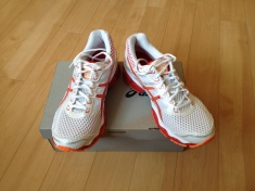 New Asics running shoes