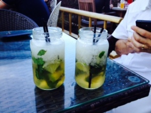 Mojitos or pond dipping?