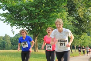 Never underestimate the older runner. LCAs rock!