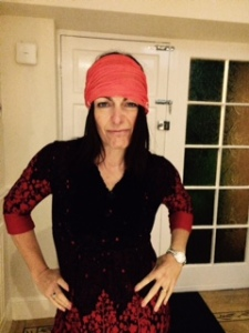 Going for surf dude, ended up with Axel Rose !
