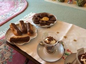 The end of the festive splurge with tea at Grandma's