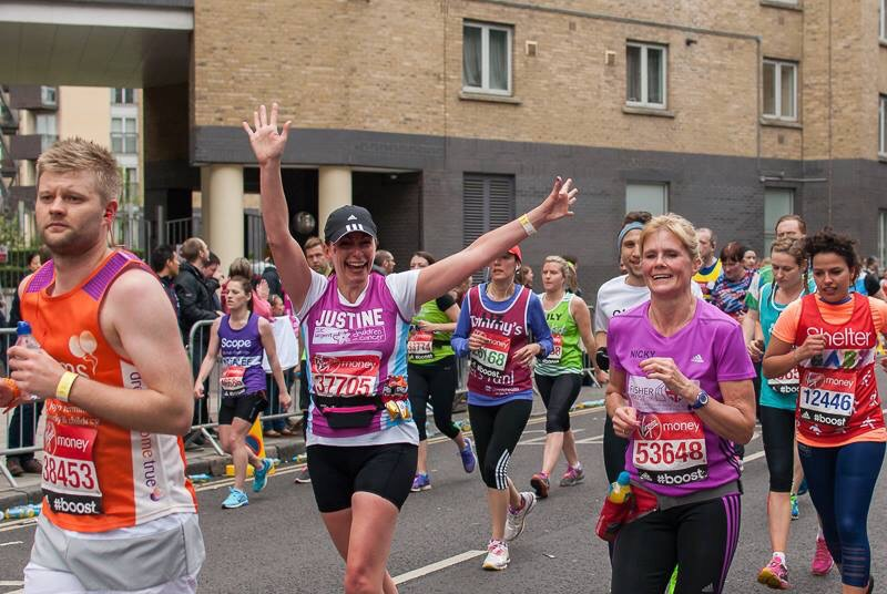 the  2015 virgin london marathon