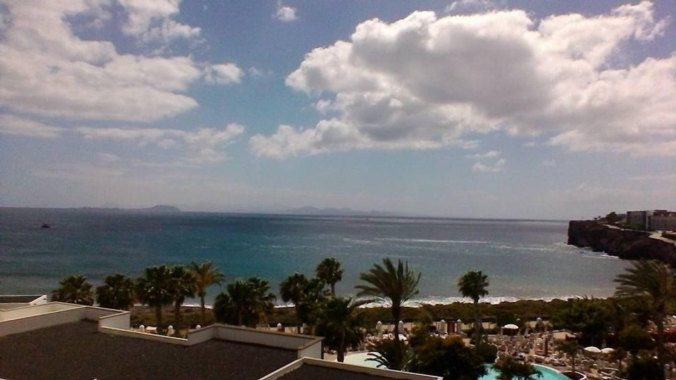 Holiday running in Playa Blanca, Lanzarote