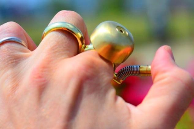 the pedestrian finger bell