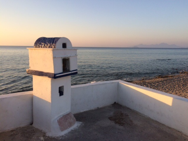 A shrine by the sea, keeping fishermen safe