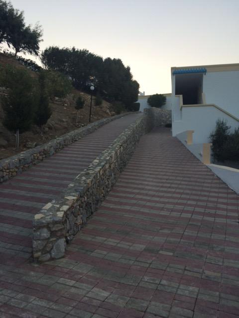 Heartbreak Hill up on the left, its waaaaaay steeper than it looks here!